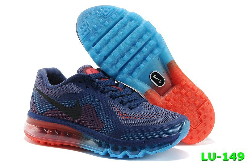 Dark Blue Red - 2015 Nike Air Max Womens Running Shoes HU295846