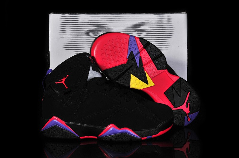 Nike Air Jordan 7 Mens Black 0271 RI025481