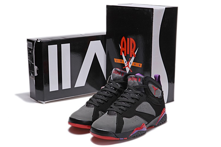 Nike Air Jordan 7 Mens Black/Red/Purple GT028754