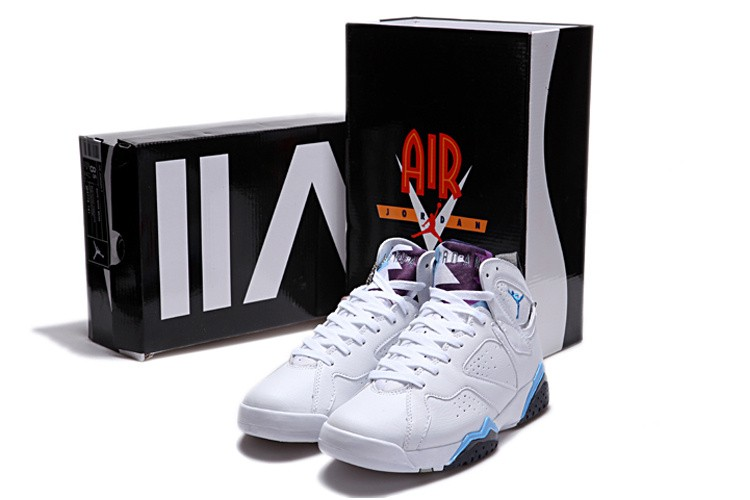 Nike Air Jordan 7 Mens White/Red/Black VW246503