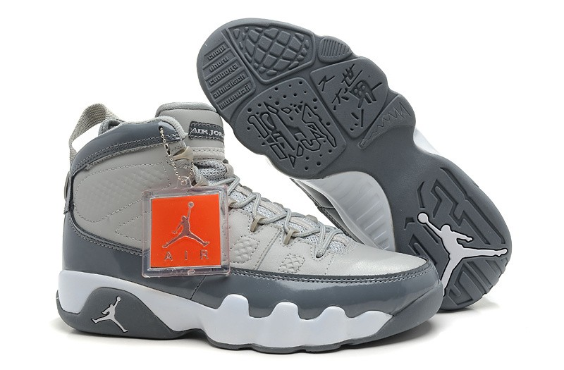 Nike Air Jordan 9 Mens Black/Red/Silver WG709615